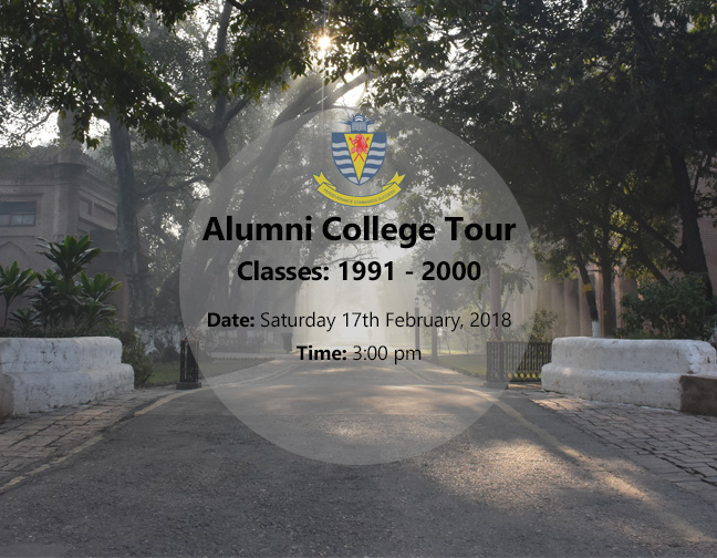 Alumni College Tour Classes: 1991-2000
