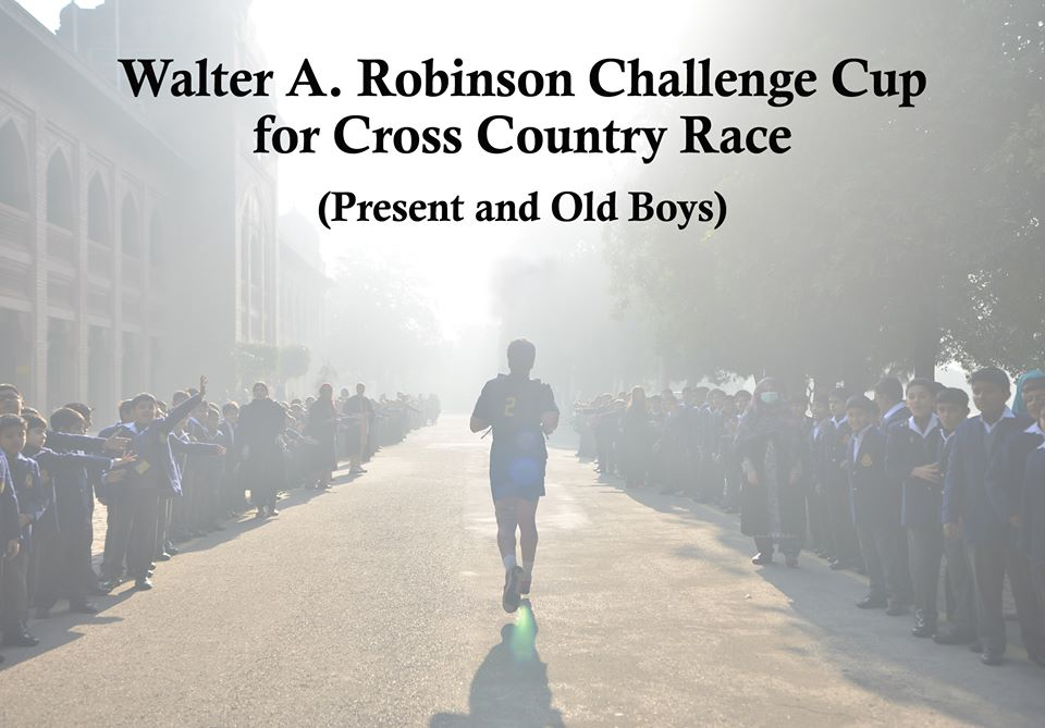 Walter A. Robinson Challenge Cup for Cross Country Race