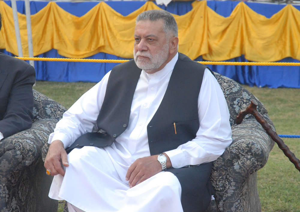 Zafarullah Khan Jamali passed away